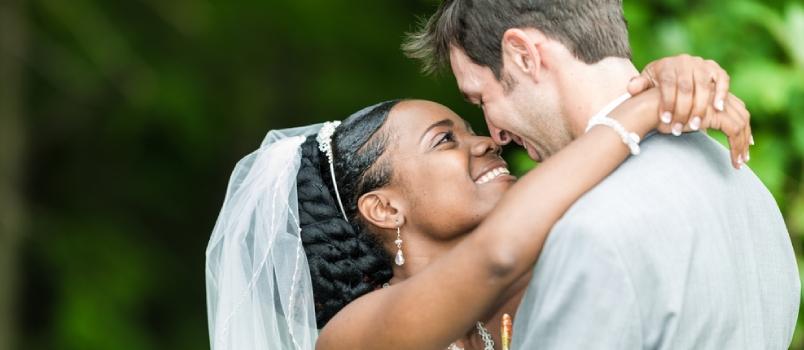 loving interracial marriage